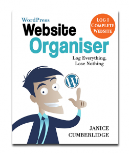 WordPress Website Organiser Book