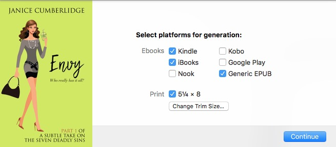 Vellum Select Platforms For Generation