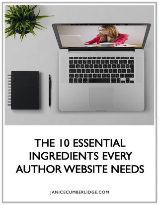 The 10 Essential Ingredients Every Author Website Needs