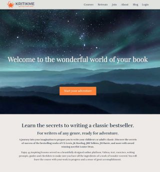 First Impressions of 'How To Write A Classic' Course for Authors by The Novelry (KritikMe)